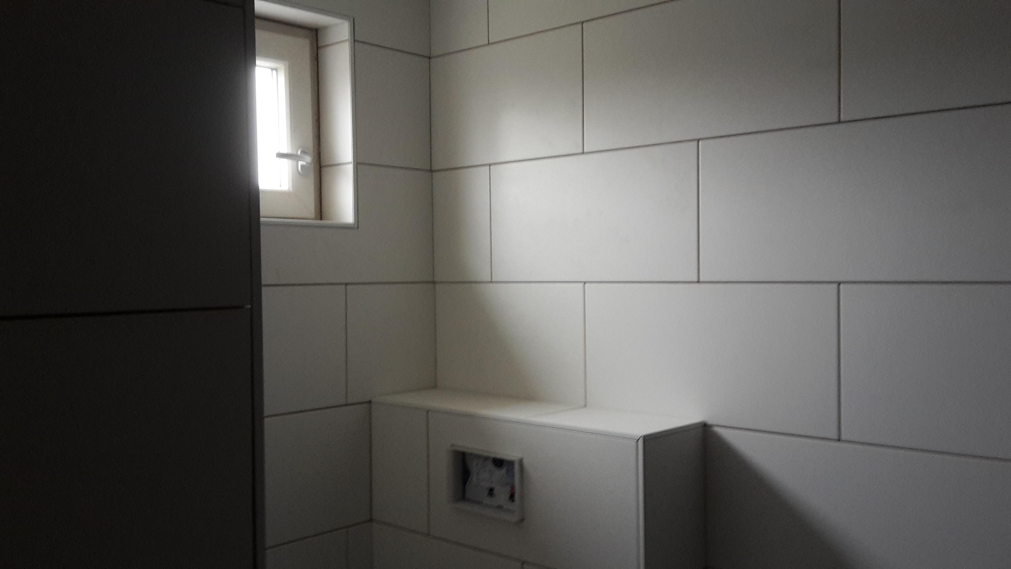 Wildverband Tegels Badkamer : Badkamer leek t. riemersma bouw & onderhoud
